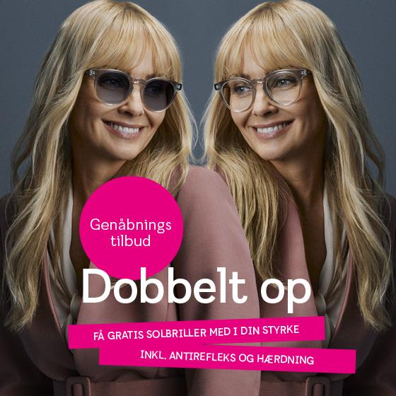Dobbelt på briller hos Smarteyes