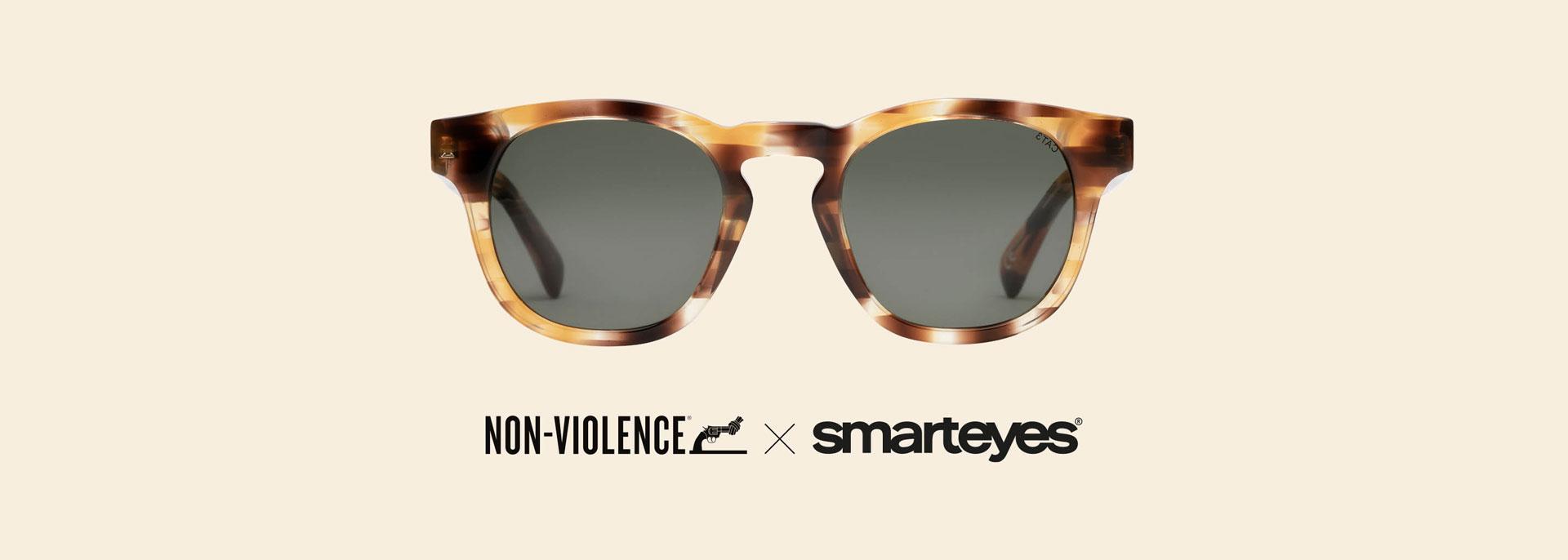 Ny solbrillekollektion Non-Violence Sun Collection I Smarteyes