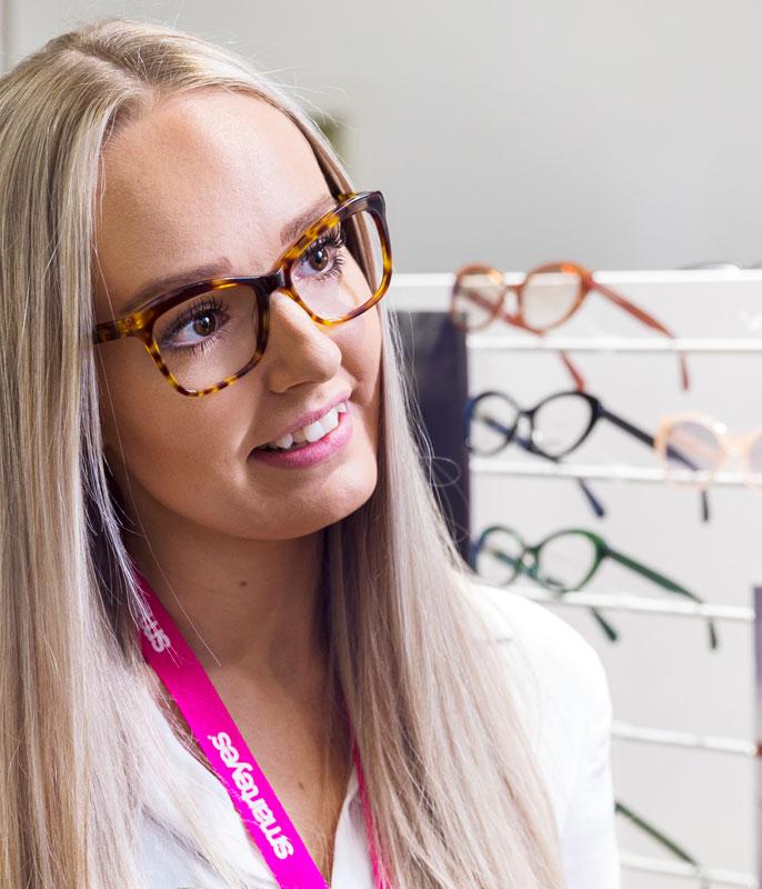 Hvad laver en salgsassistent hos Smarteyes