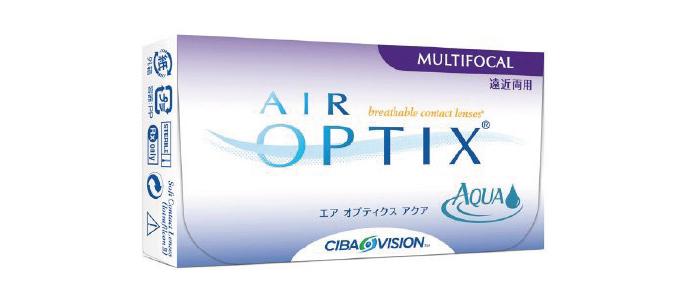 Air Opix Aqua Multifocal kontaktlinser fra Coopervision