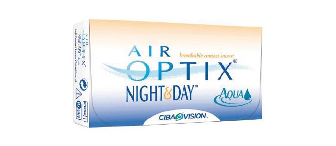 Air Optix Night and Day kontaktlinser fra Alcon