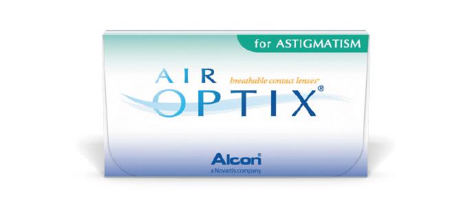 Air Optix Aqua toric kontaktlinser fra Alcon
