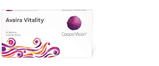 Avaira Vitality kontaktlinser fra coopervision
