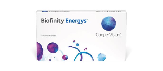 Biofinity Energis kontaktlinser fra coppervision