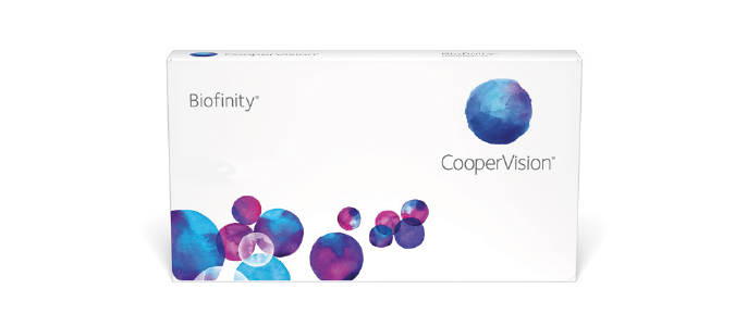 Biofinity kontaktlinser fra Coopervision