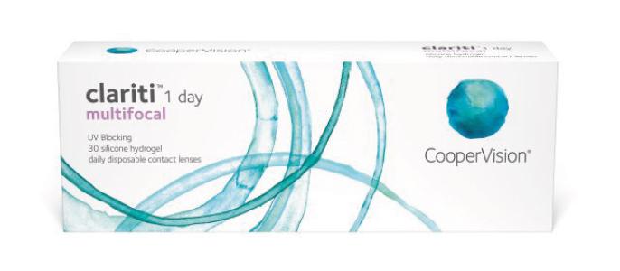 Clariti 1 day multifocal kontaktlinser fra Coopervision