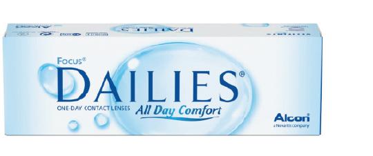 Dailies all day comfort kontaktlinser fra Alcon