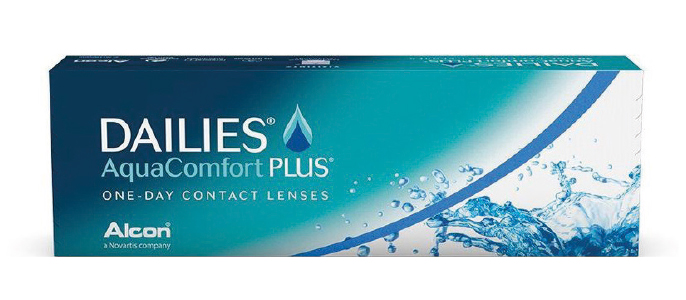 Dailies Aqua Comfort Plus kontaktlinser fra Alcon