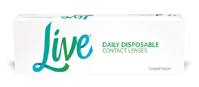 Live kontaktlinser fra Coopervision