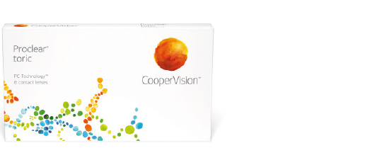 Proclear toric XR fra Coopervision