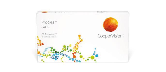 Proclear Toric kontaktlinser fra Alcon